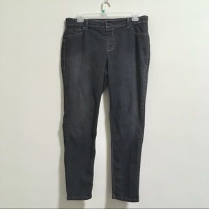 2/$20 Avenue Charcoal Black Jegging 18/20 A
